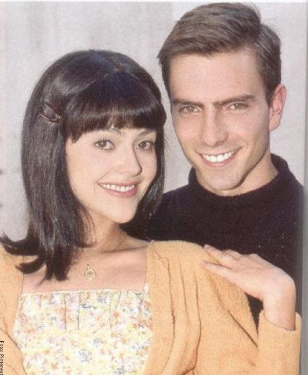 Foto de Andrés Juan con Cristina Umaña