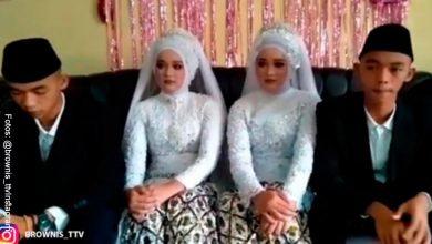 Gemelos idénticos se casan con gemelas idénticas, ¡y se van a vivir a la misma casa!