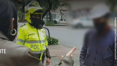 Hombre recibió multa por gritarle obscenidades a mujer en la calle