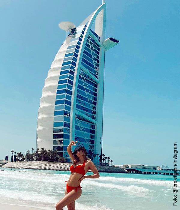 Lorelei Tarón, esposa de Falcao, deslumbró con su bikini rojo, ¡mamacita!
