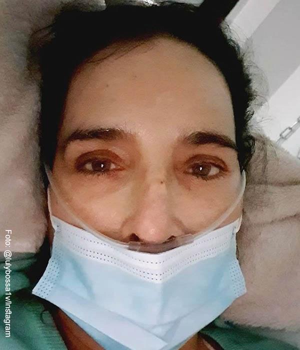 Luly Bossa contrajo el Covid y fue internada en una clínica