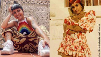Martina La Peligrosa posó en bikini y sus fans la aplauden por mostrar su celulitis
