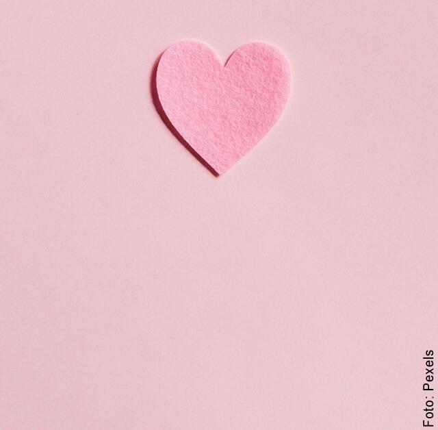 ilustración de corazón rosa para los mejores signos