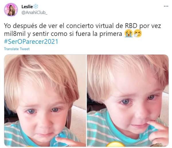 Meme de concierto de RBD
