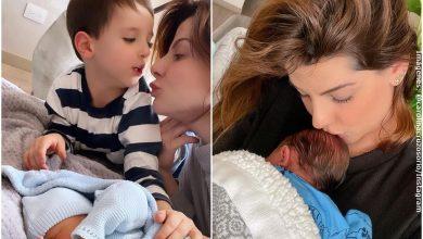 Por primera vez, Carolina Cruz mostró el rostro de su segundo hijo