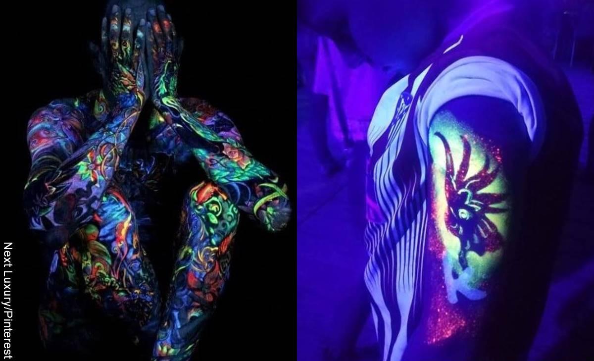¿Probarías los tatuajes con luz led, temporales e inteligentes?
