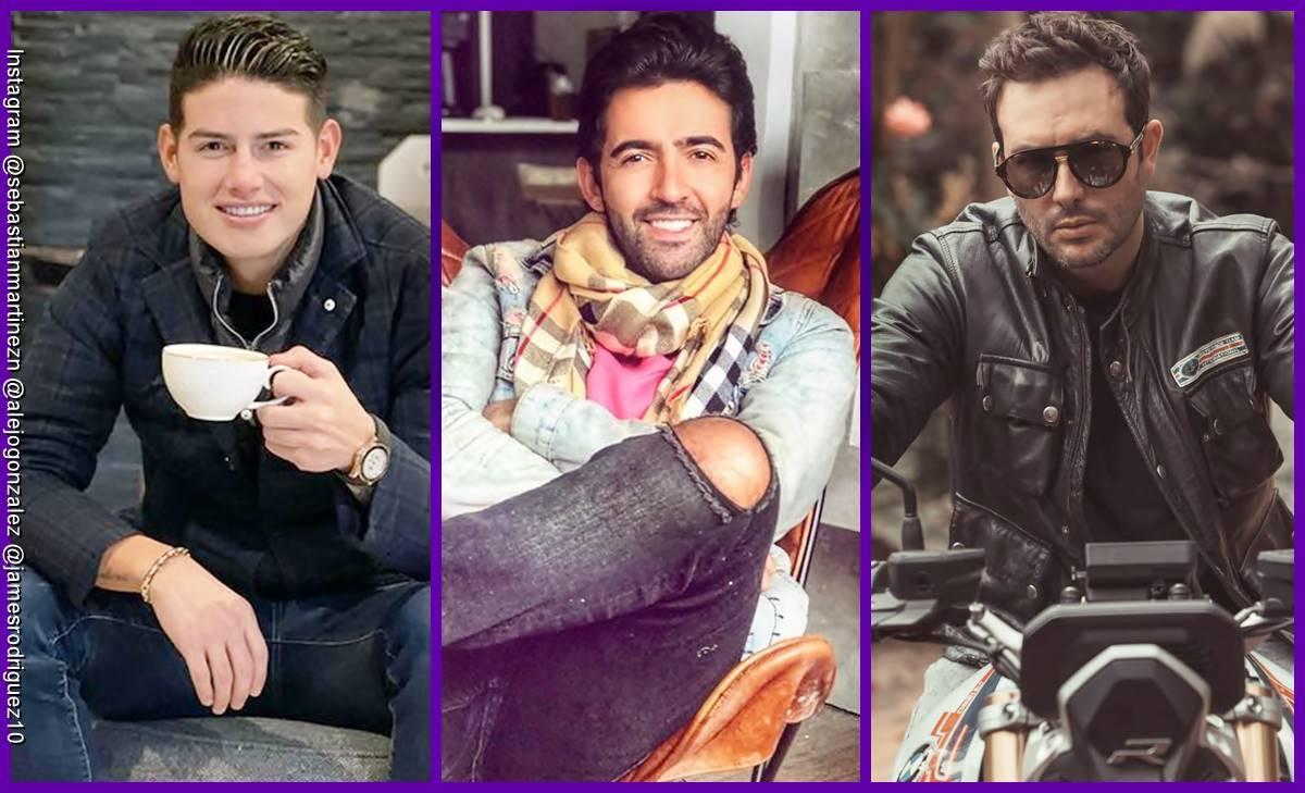 Qué tienen en común estos famosos: James Rodríguez, Alejo González y Sebastián Martínez
