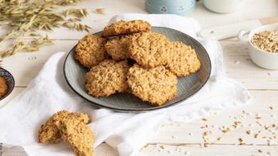 Receta de galletas de avena caseras y crujientes