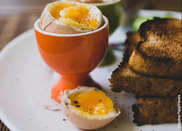Foto de huevos tibios