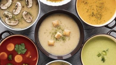 Recetas de sopas sabrosas y fáciles de preparar