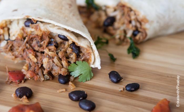 Foto de receta de burrito