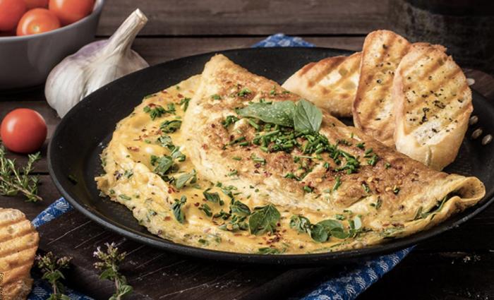 Foto de receta de omelet