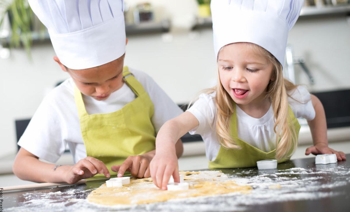 Recetas fáciles para niños, ¡diviértanse en la cocina!