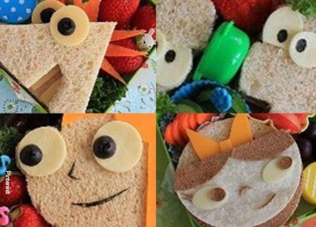 Foto de panes con formas humanas
