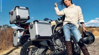 "Sara Corrales revela que le dicen ""machorra"" por andar en moto"