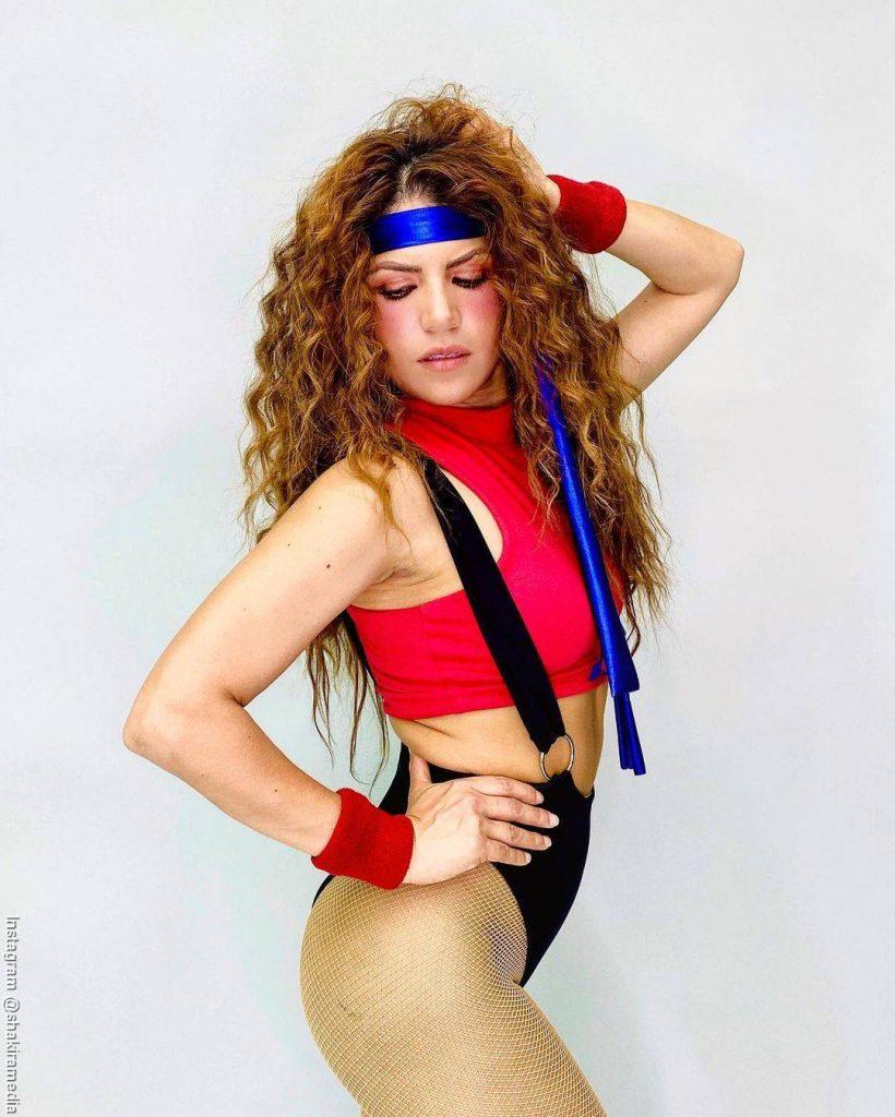 Foto de Shakibecca la imitadora de Shakira