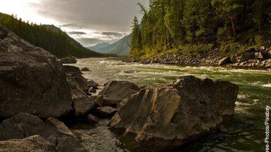 Foto de un paisaje que muestra lo que es soñar con río