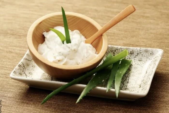 Foto de receta aloe vera y aceite de coco