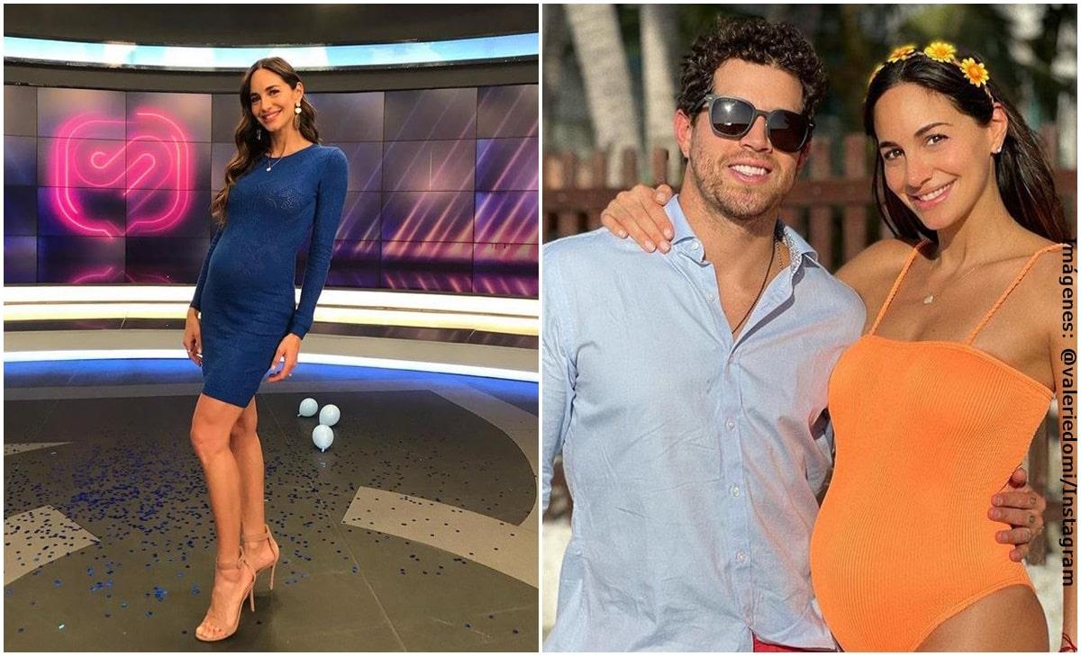 Valerie Domínguez reveló detalles de su intimidad durante el embarazo