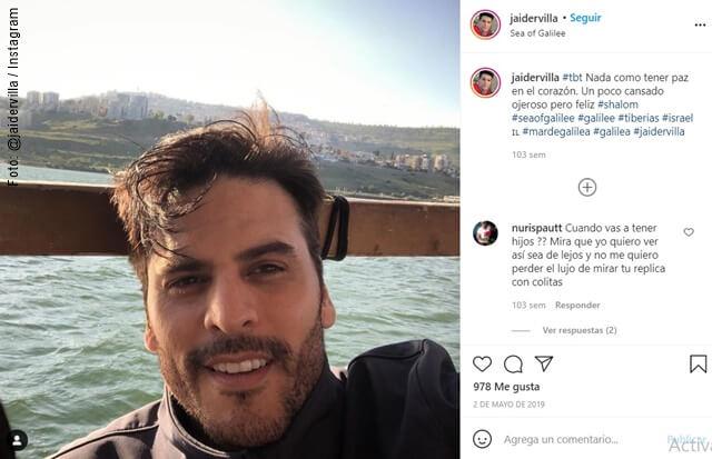 foto de selfie de jaider villa