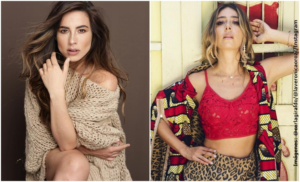 Carla Giraldo y Verónica Orozco posaron para sensual sesión de fotos