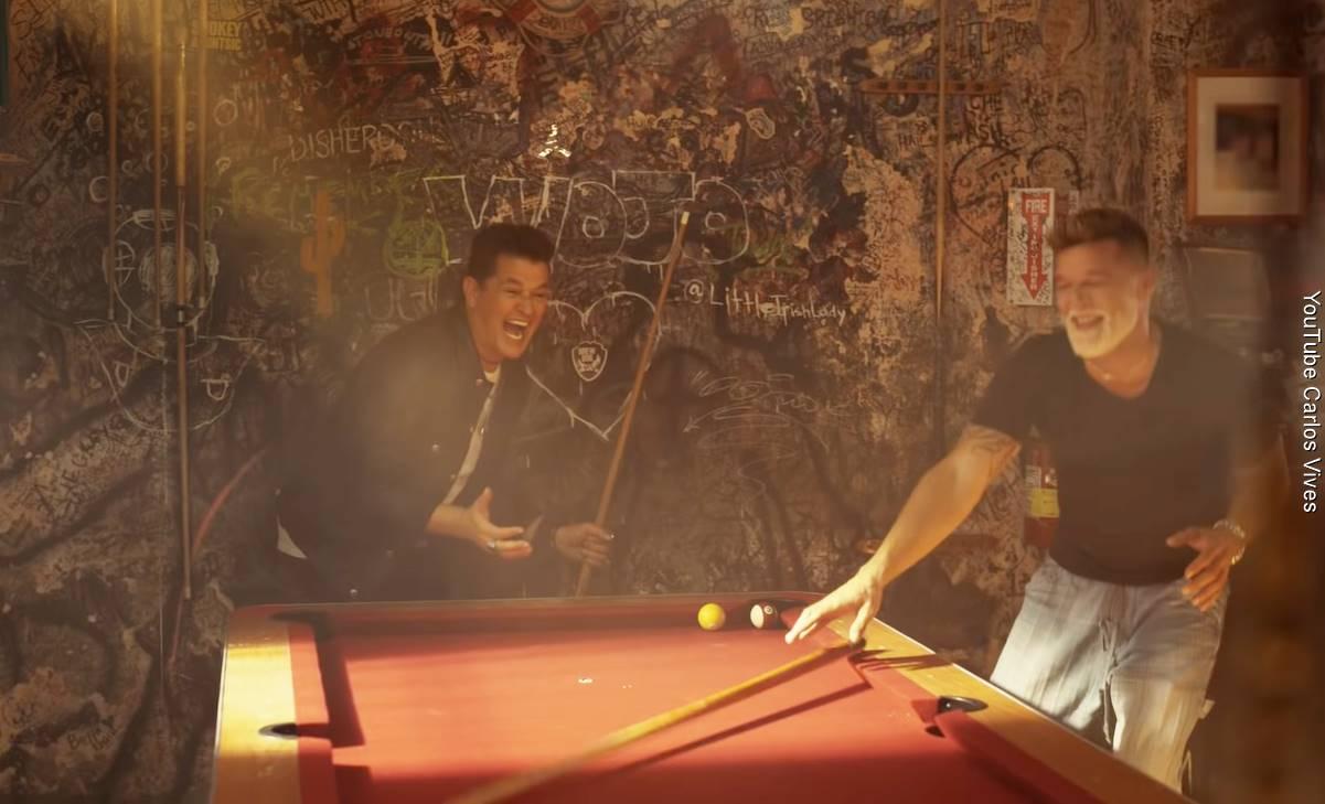 Carlos Vives y Ricky Martin hicieron una Canción Bonita
