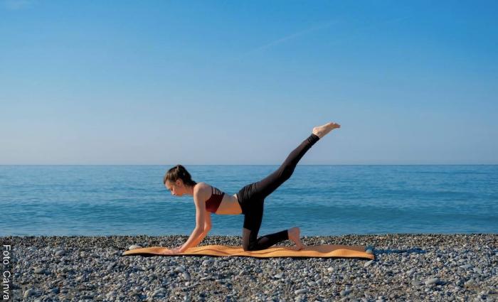 Foto ejercicios para levantar glúteos