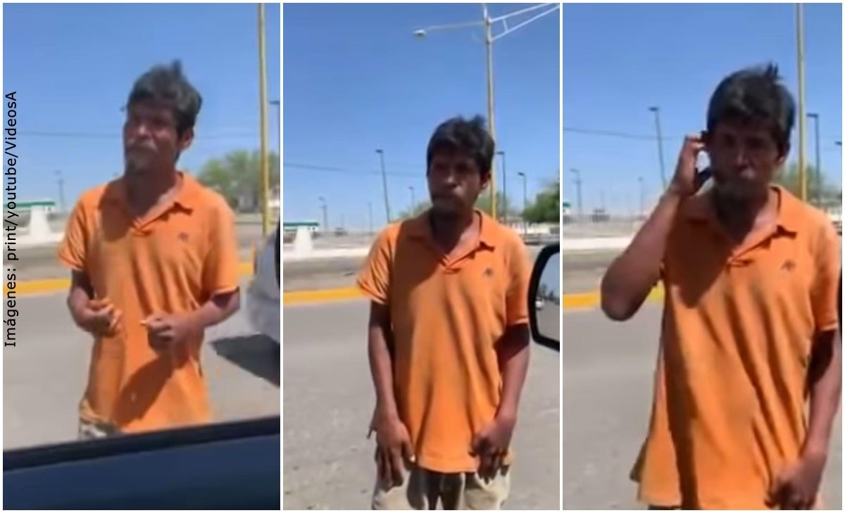 Habitante de calle rechazó trabajo y aseguró que prefería pedir