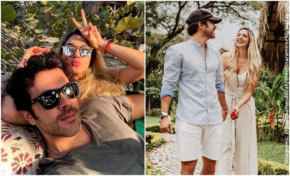 Las soñadas vacaciones de Melina Ramírez junto a Juan M. Mendoza