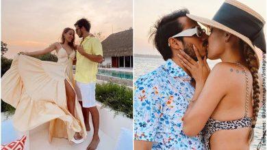 Luisa Fernanda W mostró su reacción al ver a Pipe Bueno besando a otra