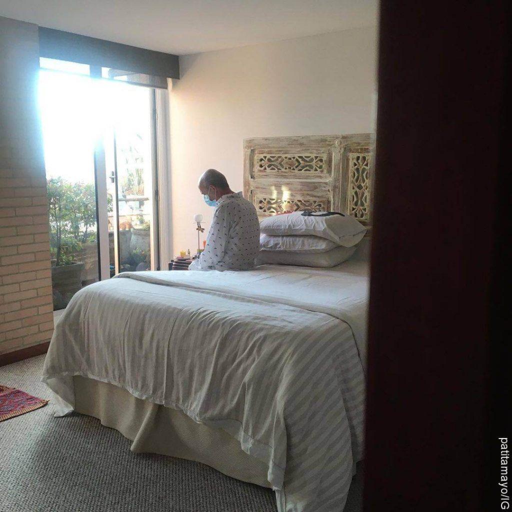 Foto de Jairo Camargo en su habitación