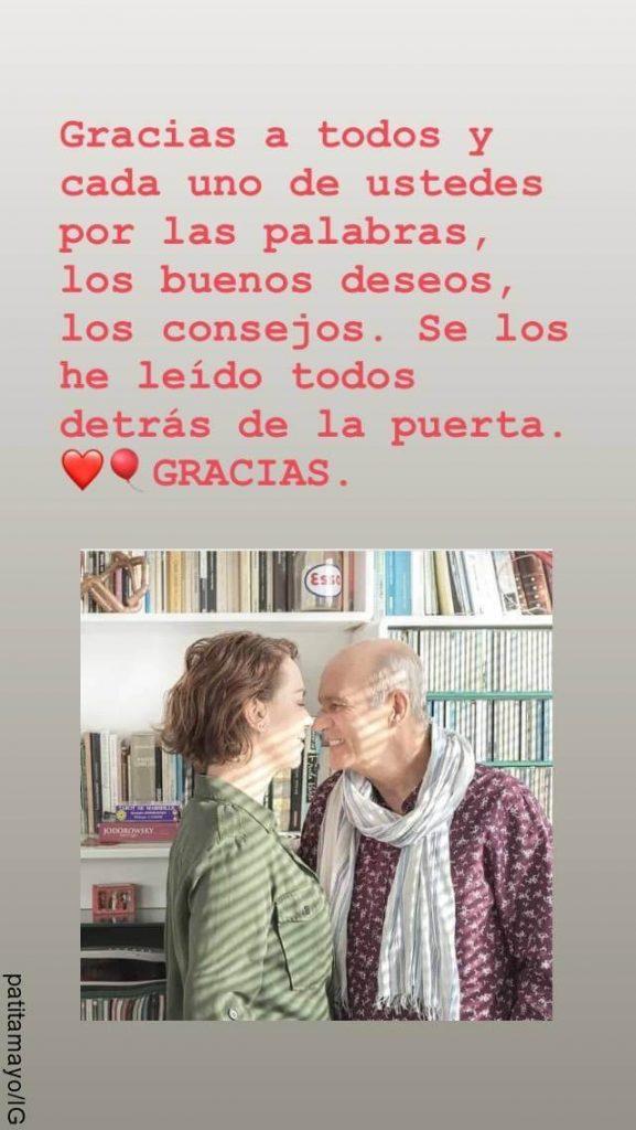 Print de Instagram de Patricia Tamayo