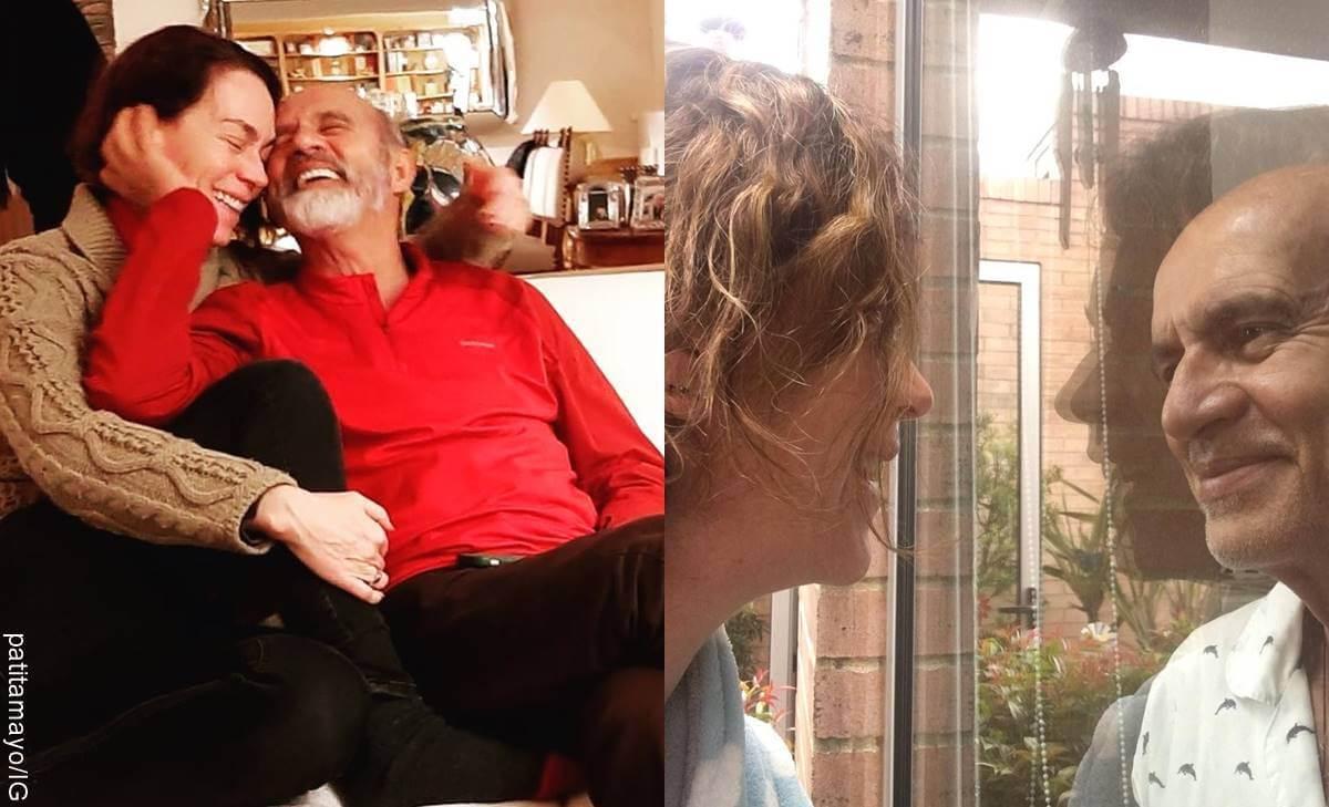 Patricia Tamayo, esposa de Jairo Camargo, de Pedro el escamoso, contó cómo vive con coronavirus