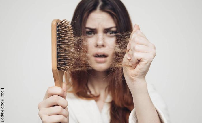 Foto de tratamiento para la caída del cabello