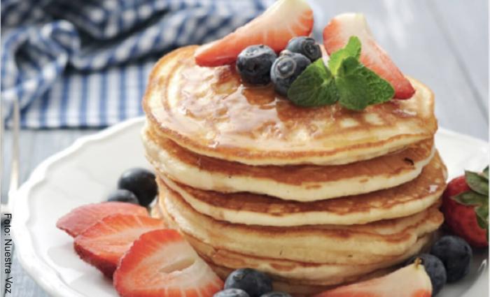 Foto de pancakes de banana