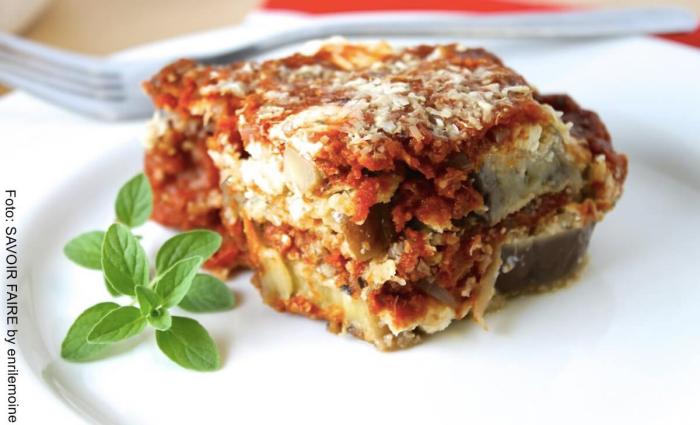 Foto berenjenas a la parmesana