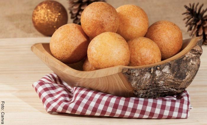 Foto de buñuelos para ilustrar recetas con harina pan