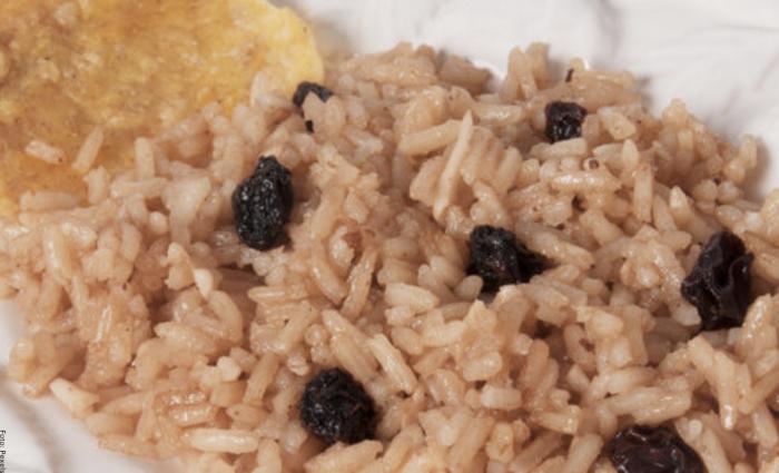 Foto de arroz con coco