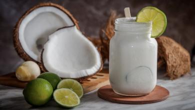 Recetas con leche de coco, opciones saladas y dulces