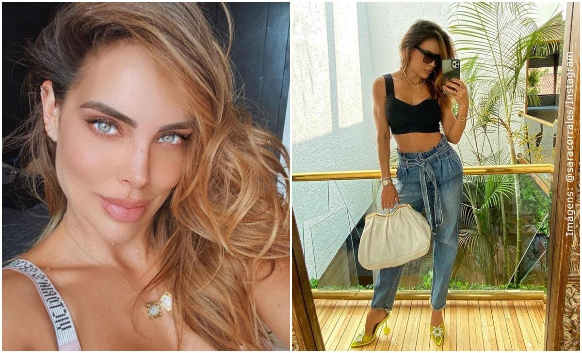 Sara Corrales puso a babear a sus fans con atrevida foto en bikini
