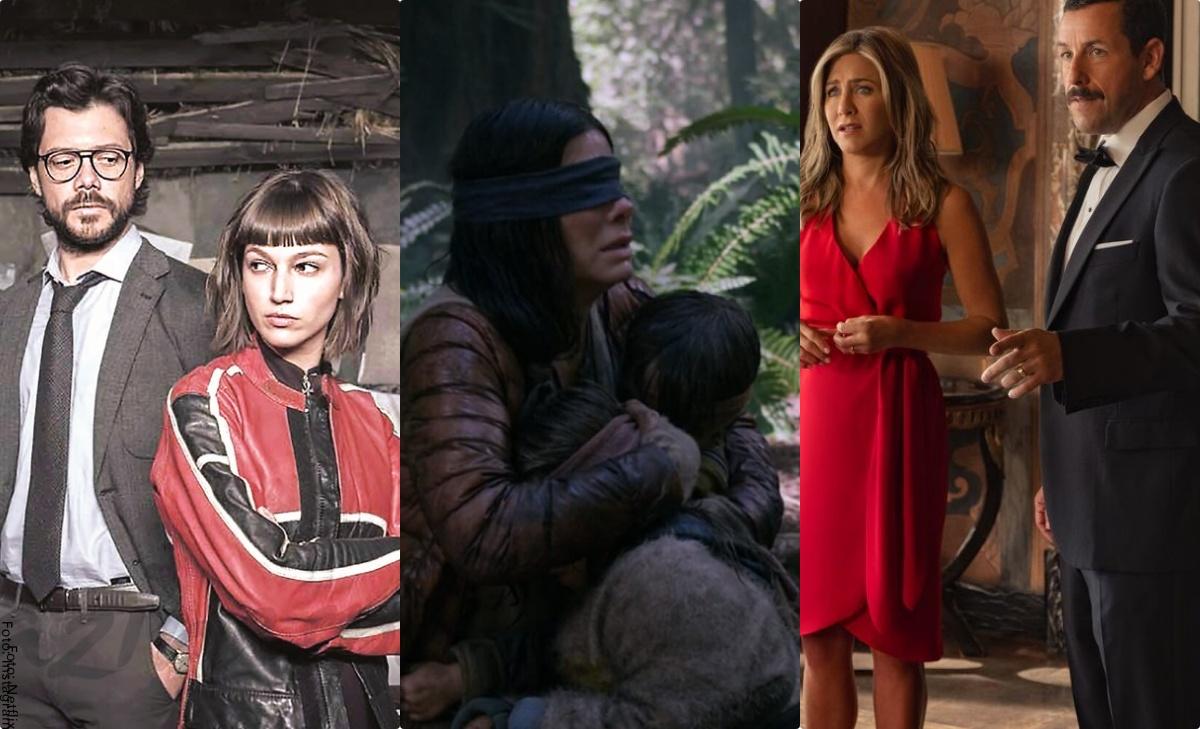 Estas son las series y películas más vistas de Netflix en el mundo
