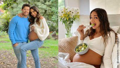 Valerie Domínguez con 9 meses de embarazo presume rutina de ejercicios