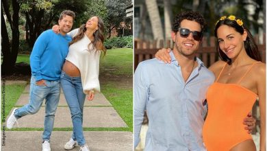 Valerie Domínguez le jugó una pesada broma al 'Pollo' con su embarazo