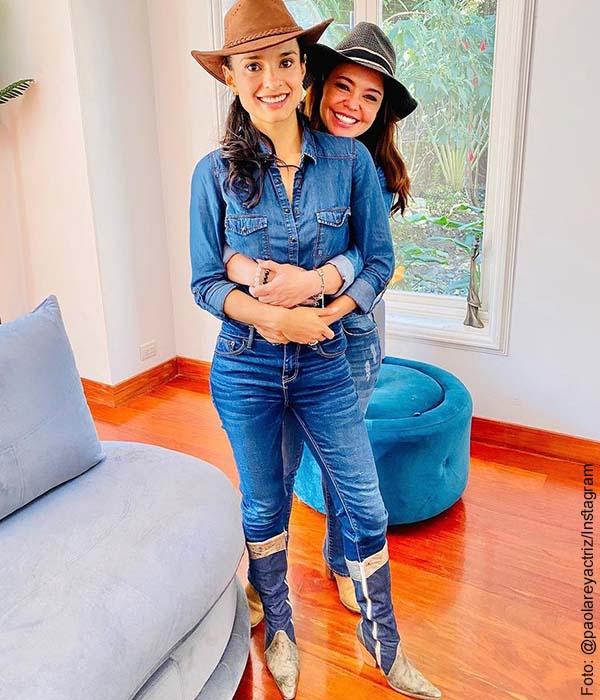 ¿Vuelve Pasión de gavilanes? Paola Rey volvió a la hacienda Elizondo