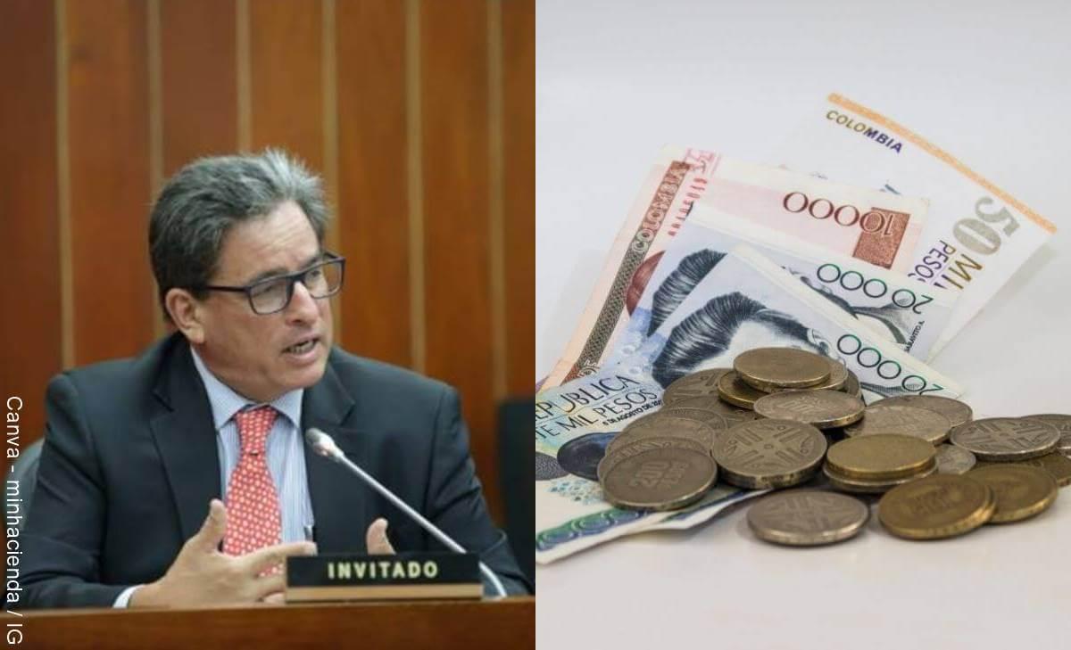 Alberto Carrasquilla, ministro de Hacienda, presentó su renuncia