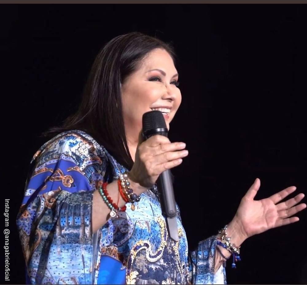 Foto de Ana Gabriel en concierto