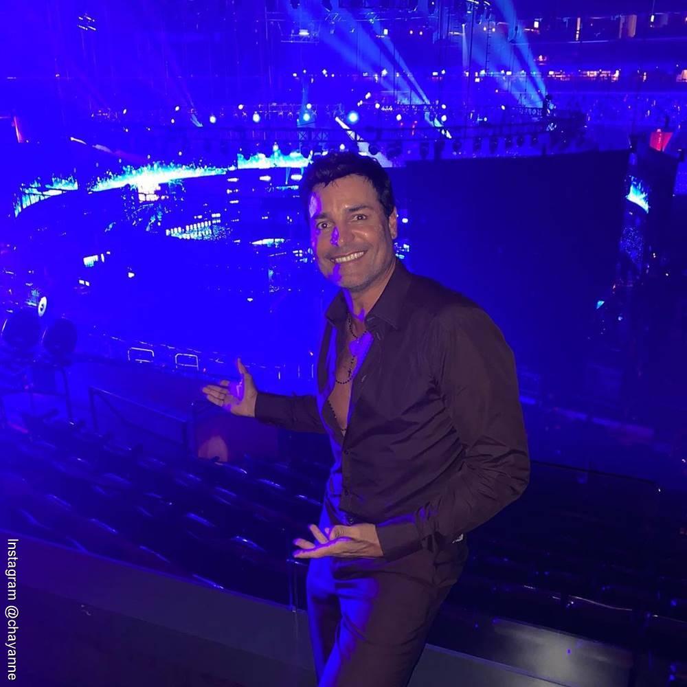 Foto de Chayanne asistiendo a una entrega de premios en Miami