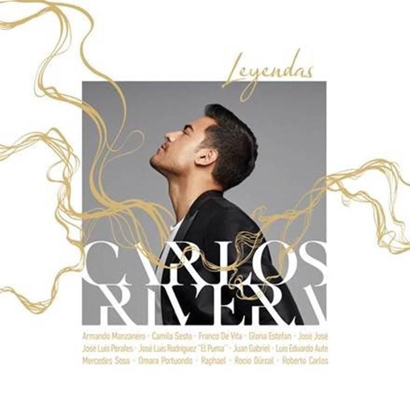 Portada del nuevo álbum de Carlos Rivera llamado Leyendas