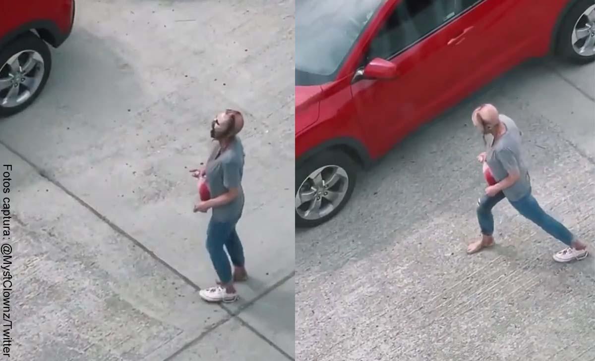 Captan en video a una supuesta mujer zombie en Estados Unidos