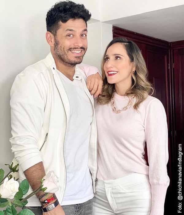 Cecilia Navia y Santiago Alarcón, ¿se separaron? La actriz lo aclaró